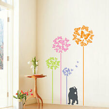 Butterfly Flower ★Home Deco Art Wall Stickers PS58090
