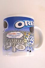 Oreo Cow Coffee Mug Nabisco Houston Harvest  Moo More Milk Cookie Dunking Cup