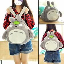 Kawaii Anime My Neighbor Totoro Stuffed Plush Backpack Shoulder Bag 15""