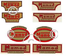 Mamod Decals Logos steam  x  8 Pieces. Mamod Spares and Parts.
