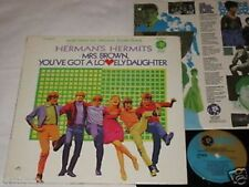 HERMAN's HERMITS mrs. brown you've got a lovely LP MGM Rec. US 1968 FOC
