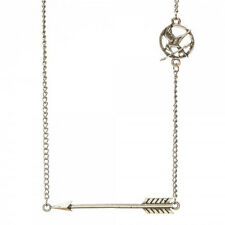 The Hunger Games Movie: Mockingjay Gold Toned Arrow Necklace, NEW UNWORN