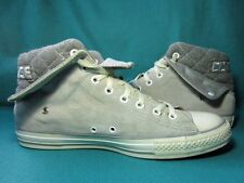 CONVERSE ALL-STAR C.T. Grey Suede Hi-Top Trainers Boots UK Size 12/EU Size 46.5