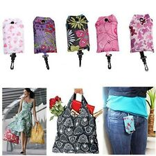 Foldable Handy Shopping Bag Reusable Tote Pouch Recycle Storage Handbags Bags