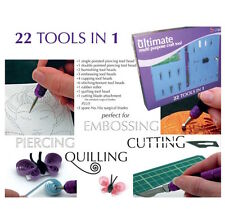 ULTIMATE MULTIUSO Craft Tool Kit Scrapbooking PERGAMENA Card Making sbalzo