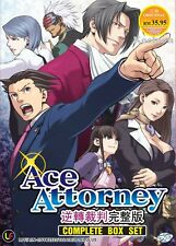 DVD Japan Anime Ace Attorney Complete Series (1-24 End) English Subtitle