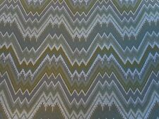 Zoffany Curtain/Upholstery Fabric 'Bargello' 2.4 METRES (240cm) Linden - Woven