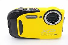 Fujifilm XP80 16.4MP 2.7'' SCREEN 5X ZOOM WATERPROOF DIGITAL CAMERA YELLOW