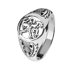 SCOTTISH LION SIGNET RING 9290
