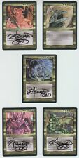 Magic Elder Dragon Legend Full Cycle 4/5 signed Legends EDH Italian Foreign