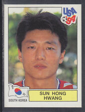 Panini - USA 94 World Cup - # 212 Sun Hong Hwang - South Korea (Green Back)