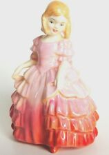 "Small Royal Doulton Figurine Young Lady - ""Rose"" HN 1368"
