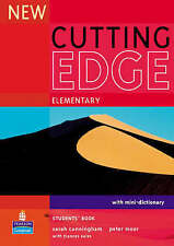 Longman NEW CUTTING EDGE Elementary Students' Book with Mini-Dictionary @NEW@