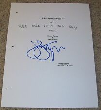 JOHN LITHGOW SIGNED 3RD ROCK FROM THE SUN 63 PAGE PILOT SCRIPT w/PROOF AUTOGRAPH