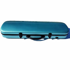 4/4 Oblong Violin Case Fiberglass Turqoise Brand New Great Deal! XT-08