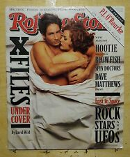 Rolling stone magazine 1996 X-Files David Duchovny Gillian Anderson Nick Cave