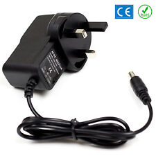 12v DC Power Supply For Yamaha YPT-210 Keyboard Adaptor Plug PSU UK Lead 1A