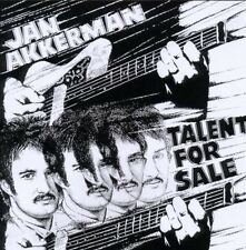 JAN AKKERMAN - TALENT FOR SALE (REMASTERED)  CD NEU