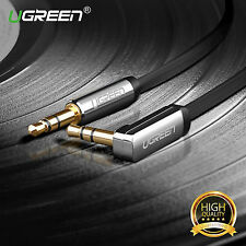 Ugreen Gold 3.5mm Aux Auxiliary Male to Male Stereo Audio Cable For iPod PC CAR