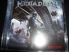 MEGADETH Dystopia (Australia) CD - NEW