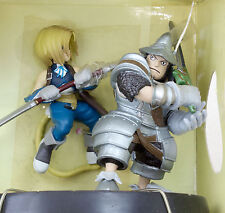 Final Fantasy IX 9 Diorama Figure Zidane Steiner Banpresto JAPAN SUARE ENIX GAME