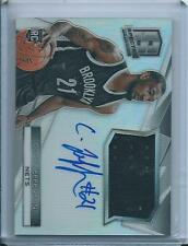 2014-15 CORY JEFFERSON SPECTRA RC PRIZM JERSEY AUTO SP /125 BROOKLYN NETS