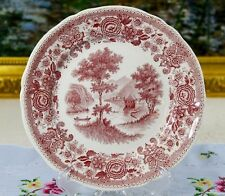 Villeroy and Boch Burgenland Red Transferware Rim Soup Bowl
