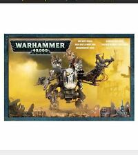 Warhammer 40K Orks Deff Dread (Plastic Model) Out of Box - Free Overseas Ship!
