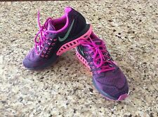NIKE ZOOM STRUCTURE 18 WOEMS SZ 9.5 PINK RUNNING SHOES - LIGHT WEIGHT