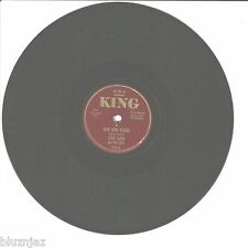 78 Rpm Eddie Smith and the Chief~Bow Wow Boogie/San Antonio Rose~ King 1002 (V)