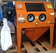 SANDBLASTING BLASTERS SAND BLAST CABINET ABRASIVE BLASTER MADE IN USA ALL WELDED
