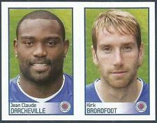 PANINI 2009-S.P.L.COLLECTION-#456/458-RANGERS-JEAN C DARCHEVILLE/KIRK BROADFOOT