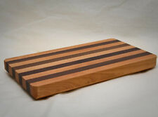 "The Vermont Butcher Block & Board Cherry Walnut Cutting Board 16"" X 9"""