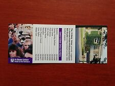 CFB 1993 KANSAS STATE WILDCATS K-State Union Football Schedule FB College