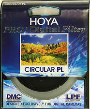 Genuine New Hoya PRO1 Digital 52mm Thin Slim  DMC Circular Pol Filter
