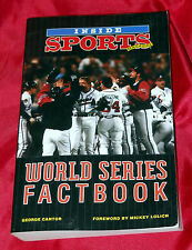Vintage Inside SPORTS Magazine - World Series Factbook