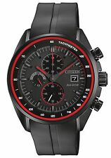 Citizen CA0595-11F Men's Eco Drive HTM Polyurethane Strap Chronograph Watch