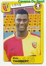 139 OLIVIER THOMERT FRANCE RC.LENS HERCULES.CF STICKER FOOT 2005 PANINI