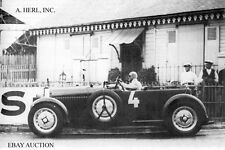 Bugatti Type 50 & Chiron - 1931 24 Hours of Le Mans - photograph photo
