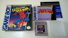 The Amazing Spider-Man - Game Boy noir et blanc - Nintendo - DMG-SM-USA Complet