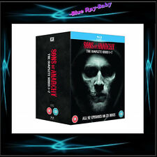 SONS OF ANARCHY - SEASONS 1 2 3 4 5  6 7 * BRAND NEW BLURAY BOXSET * REGION FREE