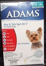 Adams Flea & Tick Spot On Treatment Toy Small Dogs 5-15 lbs - 3 Month Supply