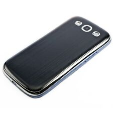BACK COVER FOR SAMSUNG GALAXY S3 S3 NEO BLACK ALU CASE HARD SHELL ALUMINIUM