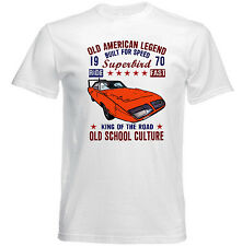 VINTAGE AMERICAN CAR PLYMOUTH SUPERBIRD 1 - NEW COTTON T-SHIRT