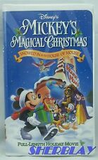 Walt Disney Mickey's Magical Christmas Snowed In at the House of Mouse VHS 2001