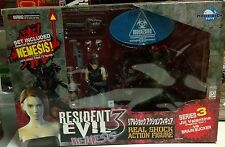 RESIDENT EVIL NEMESIS! JILL VALENTINE vs BRAIN SUCKER MIB MOBY DICK CAPCOM SER.3