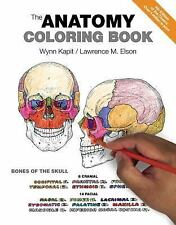 2-DAY SHIPPING | The Anatomy Coloring Book, PAPERBACK, Wynn Kapit, 2013