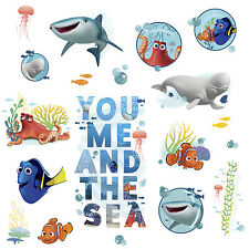 19 FINDING DORY QUOTE WALL DECALS Disney Stickers Kids Bedroom or Bathroom Decor