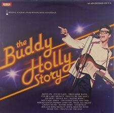 "12"" LP - Gary Busey - The Buddy Holly Story - Soundtrack - k2730 - RAR"