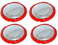 FIAT 500 ABARTH lega ruota centro CAP coperchio TRIM 51895377 Set di quattro AUTENTICO